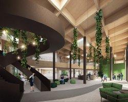 Projekt nowej siedziby dyrekcji Lasów Republiki Czeskiej