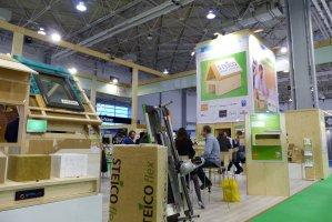 Firma Steico i jej partnerzy stworzyli na targach Centrum Budownictwa Energooszczędnego