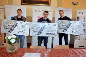 Laureaci konkursu Sprawny w zawodzie - Stolarz