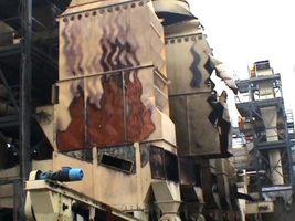 Prospan - straty po pożarze<br>fot. KW PSP Łódź