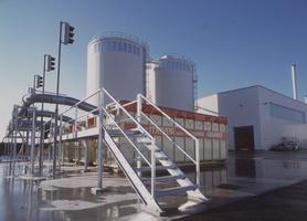 Wismar: silosy trocin<br>fot. Hüttemann