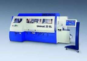 <font color=gray>Automat strugająco-profilujący <br>Unimat 23 EL firmy Weinig</font>