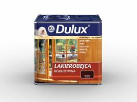 Dulux® Lakierobejcę Ekskluzywną wyróżnia wysoka wydajność. <br>Litr produktu pozwala na odmalowanie aż 25 m² powierzchni drewnianej