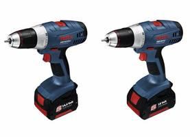 Nowe wiertarko-wkrętarki Boscha GSR 14,4 V-LI oraz 18 V-LI są bardzo wydajne