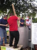 Gotowanie rekordowego bigosu myśliwskiego
