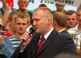 Poparcia protestującym udzielił Wojciech Papis z OIG Kongregacja Przemysłowo-Handlowa
