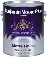 Benjamin Moore Regal Matte Finish