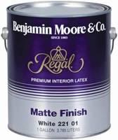 Benjamin Moore Regal Matte Finish