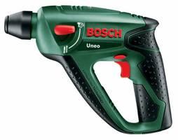 Wiercenie z udarem i bez udaru oraz wkręcanie śrub przy pomocy jednego tylko elektronarzędzia - jest to możliwe dzięki innowacyjnemu urządzeniu Uneo firmy Bosch