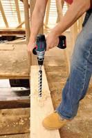 Modele: GSR/GSB 14,4/18 VE-2 LI Professional sprawdzają się w najtrudniejszych zadaniach związanych z wkręcaniem i wierceniem w drewnie i metalu, oraz przy wierceniu z udarem w murze (wariant GSB)