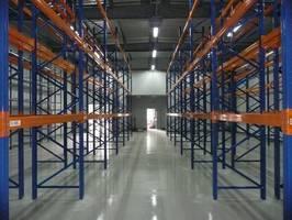 Część magazynowa do wysokiego składowania o powierzchni ok. 500 m²