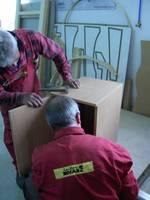 Montarz szafki wyprodukowanej podczas prezentacji