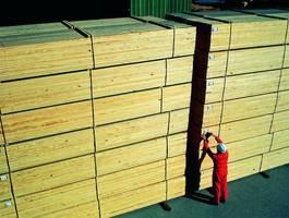 Drewno zabezpieczone przed sinizną Sinesto B można przechowywać bez obawy utraty jego wartości