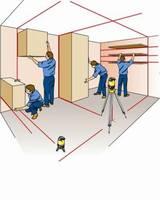 Lasery krzyżowe ułatwiają pracę