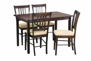 Stół dębowy z krzesłami Sharon