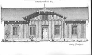 B. Liebold - Budownictwo drzewne. Wzornik detalu snycerskiego -Reprint 1893