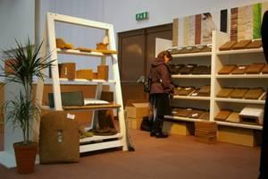 Firma Enkev Polska prezentowała szeroką gamę naturalnych wypełnień do mebli tapicerowanych.