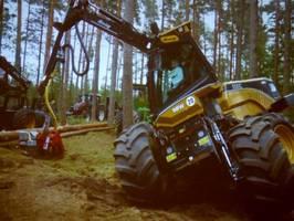 Możliwości zawieszenia harwestera firmy Eco Log
