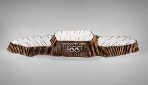 Olimpijskie podium z drewna - Vancouver 2010