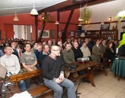 Uczestnicy konferencji podczas wykładów