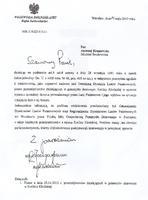 Pismo Wojewody Dolnośląskiego skierowana do Ministra Środowiska