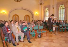 Uczestnicy konferencji Klęski żywiołowe w lasach - Poznań 2010