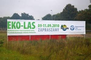 Tegoroczne Targi Eko-Las po raz pierwszy odbyły się w nowej lokalizacji: Mostki k. Świebodzinaa