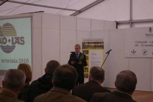 Otwarcia targów dokonał Janusz Mazurczak, Dyrektor Grupy Produktów MTP