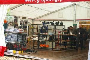 Narzędzia i sprzęt dla leśnictwa na stoisku firmy Grube z Poznania