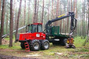 Forwarder Valmet 890.3