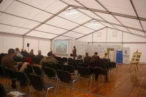W trakcie targów odbywało sie Forum Leśne - Człowiek Las Drewno