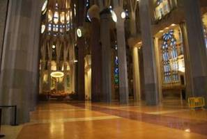 Korkowe podłogi w Sagrada Familia