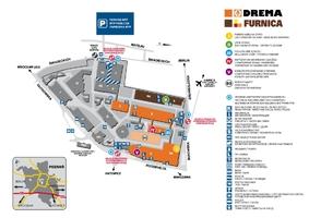 Plan targów Drema i Furnica 2011