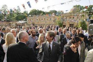 Impreza otwierająca targi LIGNA 2011 zgromadziła wielu znanych w branży osób