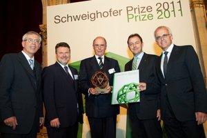 Nagrodzeni w konkursie Schweighofer Prize 2011