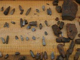 Częstym znaleziskiem są pozostałości pocisków