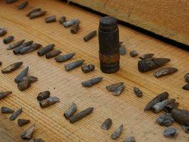 Czasami kaliber znajdowanych pocisków jest znaczny