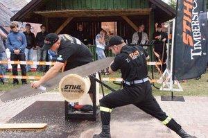 Widowiskowe konkurencje zawodów Stihl Timbersports Series