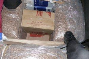 Kolejna próba przemytu papierosów ukrytych w pelletach