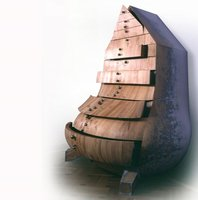 Szafa - SZA5, 1999, drewno, 100x125x180 cm