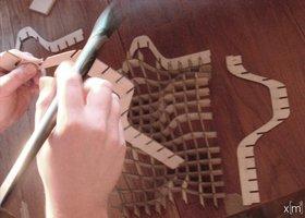 zmianatematu - przygotowanie modelu stolika ze sklejki