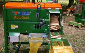 Urządzenie do produkcji i pakowania drewna przeznaczonego na rozpałkęi