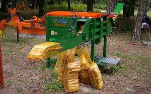 Urządzenie do produkcji i pakowania drewna przeznaczonego na rozpałkę
