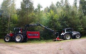 Ciągniki do prac leśnych