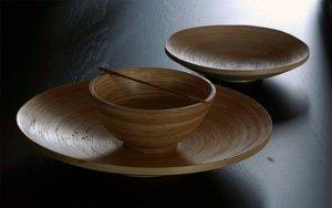 Bambusowe naczynia