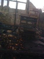 Ogień strawił maszyny produkcyjne