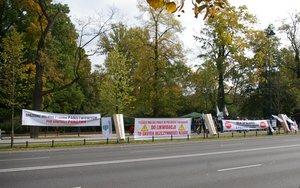 Pikieta Przemysłu Drzewnego - Warszawa 05.10.2011r.