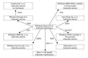 Struktura grupy kapitałowej