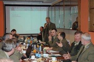 Spotkanie leśników i papierników w Nadleśnictwie Kwidzyn