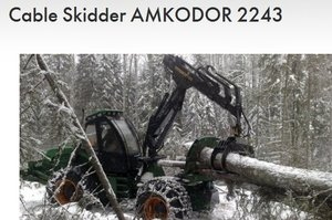 Skidder Amkodor 2243